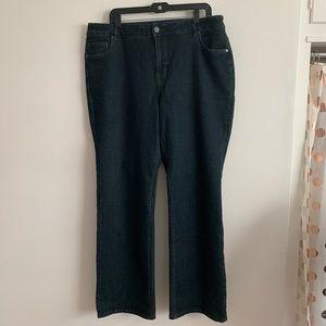 ⭐️3/$25⭐️ Avenue Denim Plus size Boot cut jeans